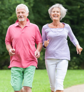 Active seniors with arthritis
